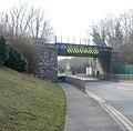 Cardiff Road railway bridge, Newport - geograph.org.uk - 2309789.jpg