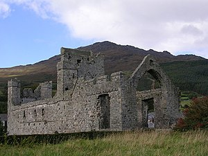 Carlingford Abbey - Image: Carlingford Priory and Mountain geograph.org.uk 491559