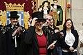 Carmena recibe a la Alegre Cofradía del Entierro de la Sardina (01).jpg