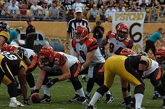 Cincinnati Bengals - Image: Carson Palmer under center