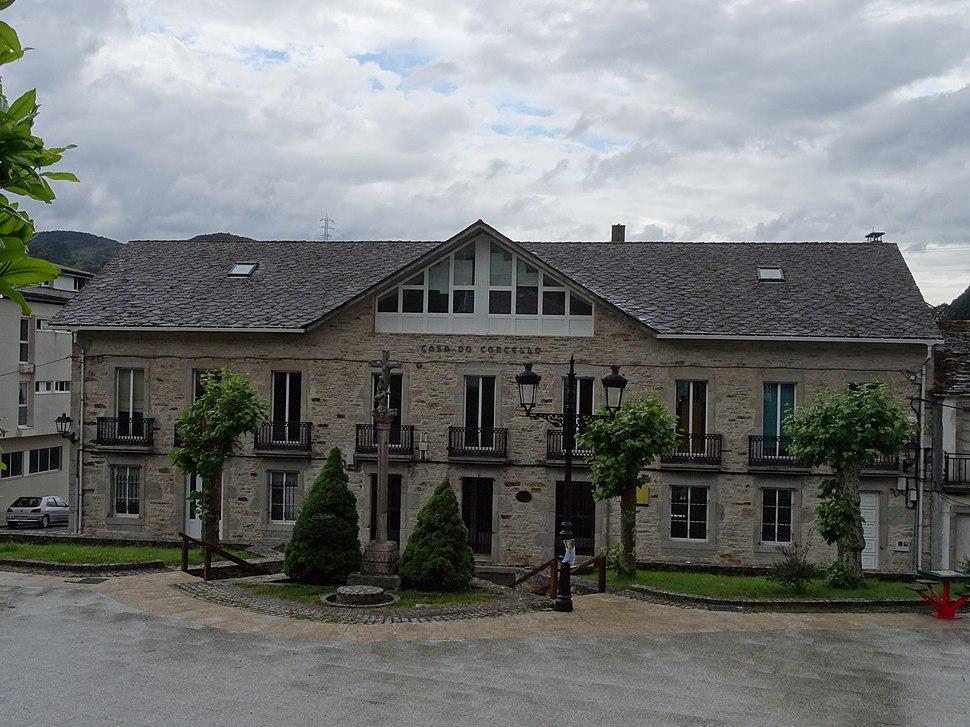 Casa concello Muras, Galicia