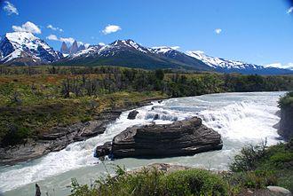 Paine River - Paine Cascade