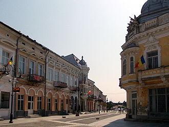 Carpathian Euroregion - Image: Casco antiguo Bt
