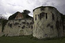 Mura e fortificazione del castel San Felice, dalla parte rivolta verso la città