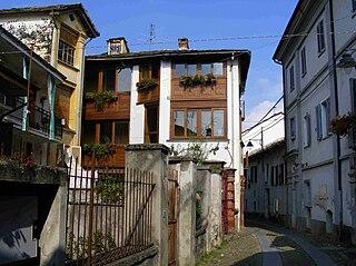 Castelnuovo Nigra Comune in Piedmont, Italy