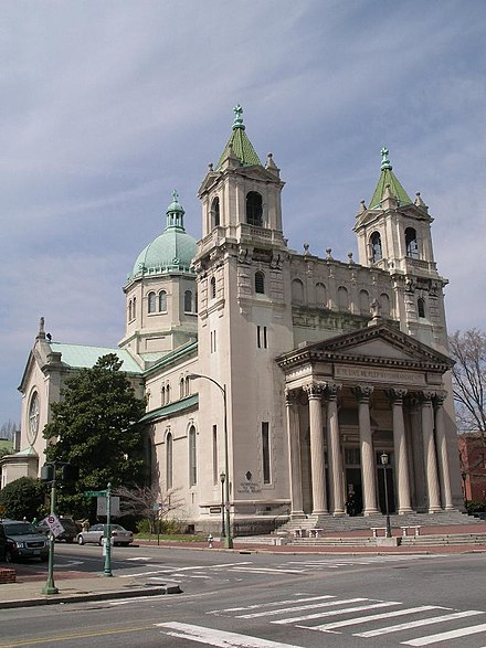 The Cathedral of the Sacred Heart, dedicated in 1906 Cathedral of the sacred heart.JPG
