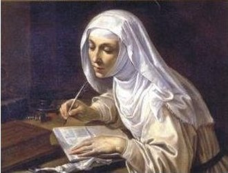 Rutilio di Lorenzo Manetti - Image: Catherine of Siena writing