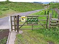 Cattle grid, gate and stile leading south to Deep Dale - geograph.org.uk - 435157.jpg
