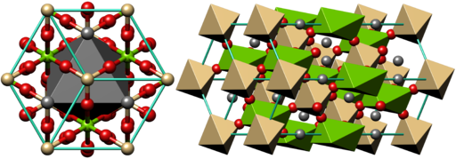 Cd-dolomite crystal structure