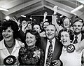 Celebrating on election night, November 29 1975.jpg