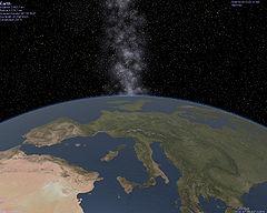 Celestia earth