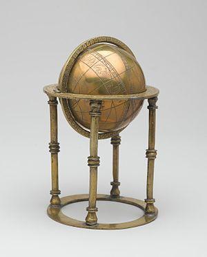 Celestial sphere - Celestial Sphere, 18th century. Brooklyn Museum.