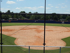 Husky Field (softball) - Image: Center field from grandstands at Husky Field Softball