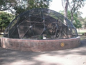 Central Gardens Nature Reserve - Image: Central Gardens Aviary