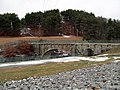 Central Mass arch bridge from the south, January 2016.JPG