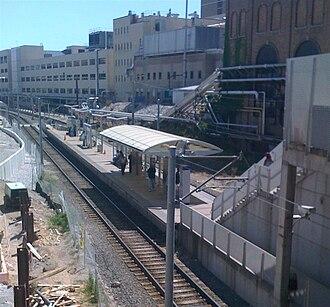 Central West End station - Image: Central West End Metro Link station