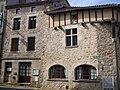 Châlus, Haute-Vienne, France, maison médiévale.JPG