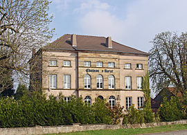 The chateau in Barst
