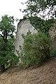 Château de Bressuire rempart cour du logis 1.JPG
