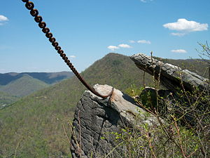 Pine Mountain State Resort Park - Chained Rock