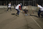 Championship floor hockey game 150303-N-GT589-067.jpg