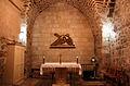 Chapel in 7th Station (Via Dolorosa).JPG