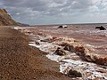 Chapman's Rocks and red-stained sea - geograph.org.uk - 1200436.jpg