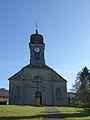 Chapois façade de l'église.JPG