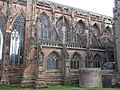 Chapter House, Lichfield Cathedral (exterior 6).JPG