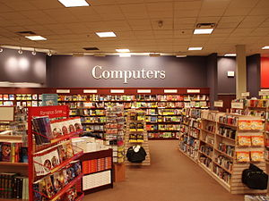 Chapters - Inside Chapters in Markham, Ontario in October 2008.