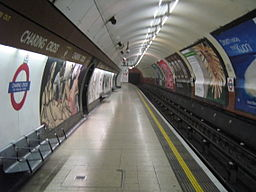 Charing cross london underground