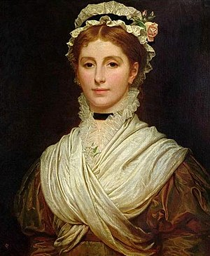 Kate Perugini - Charles Edward Perugini's portrait of his wife Kate