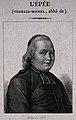 Charles Michel, Abbé de l'Epée. Line engraving by Sixdéniers Wellcome V0003500.jpg