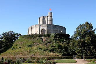 Louis VI of France - Motte and castle at Gisors.