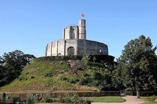 Château de Gisors, Eure.