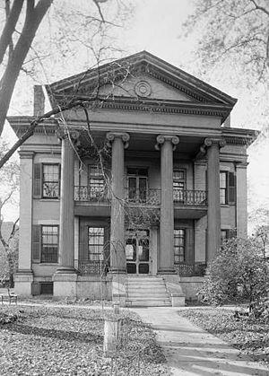 Chatillon–DeMenil House - The Chatillon–DeMenil House in 1936