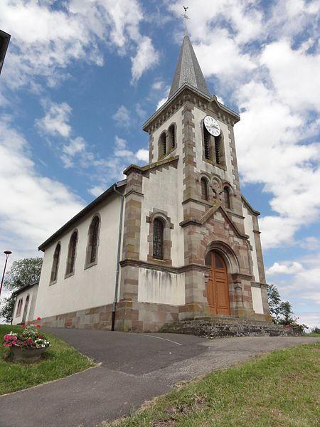 Chazelles-sur-Albe (M-et-M) église