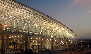 Chennai International Airport - Side view of Chennai airport