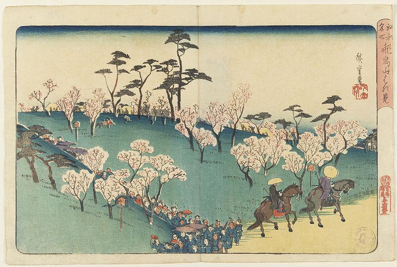 File:Cherry-Blossom Viewing at Asuka Hill (Asukayama hanami).jpg