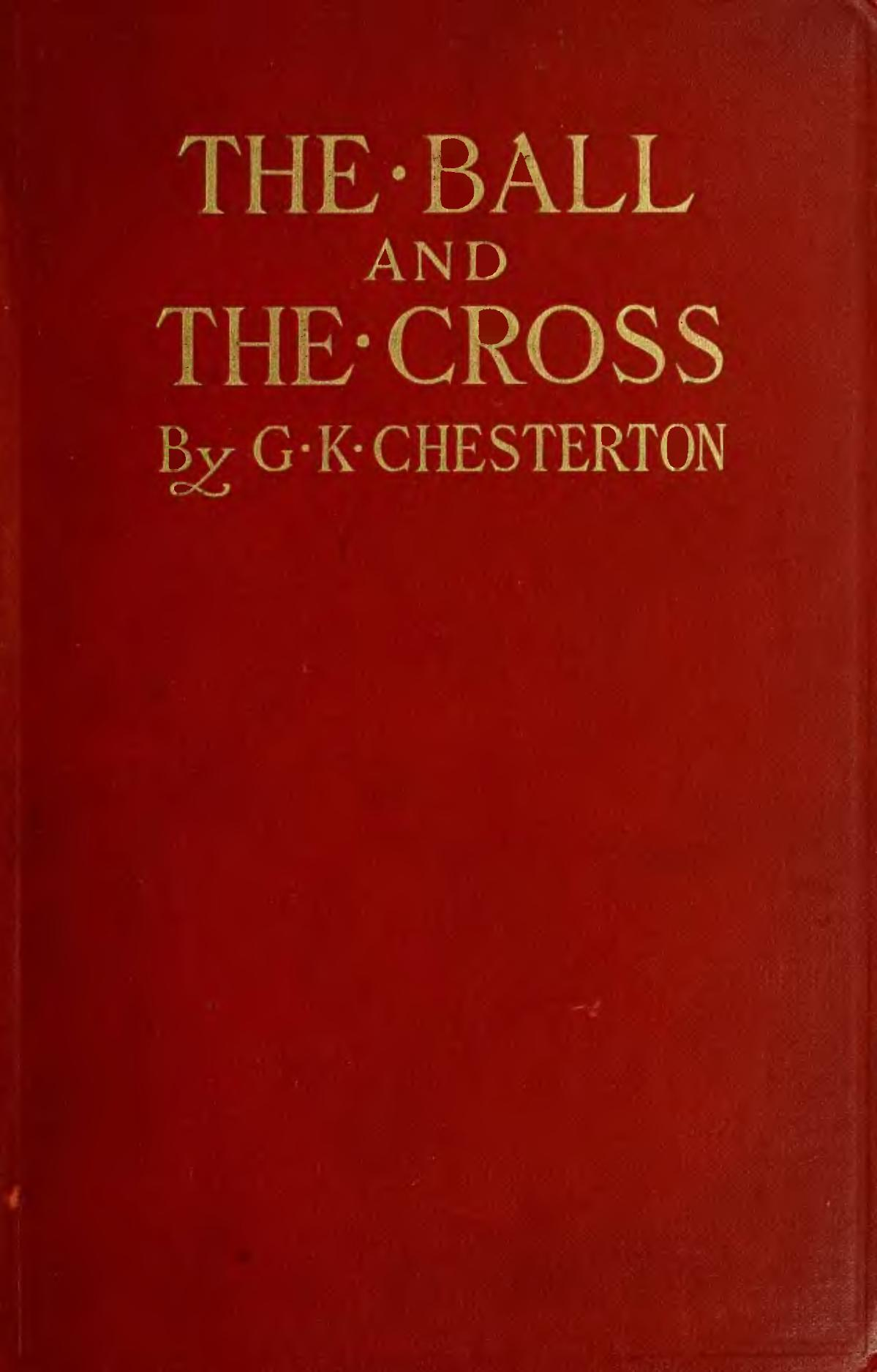 The Ball and the Cross - Wikipedia