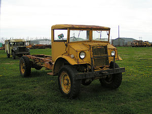 Canadian Military Pattern truck - Chevrolet CMP chassis with No.13 cab