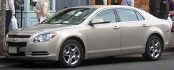 Seventh generation Chevrolet Malibu LT