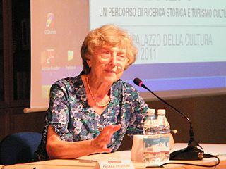 Chiara Frugoni Italian historian