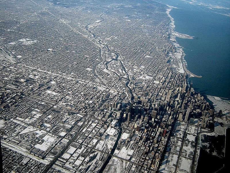 Fichier:Chicago Downtown Aerial View.jpg