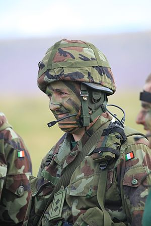 Army Reserve (Ireland) - A Lieutenant of the Reserve Defence Forces