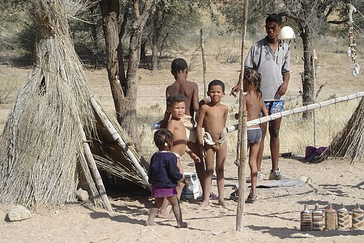Children of the Kalahari