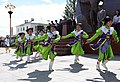 Children perform a traditional Mongolian dance during the opening ceremony for Khaan Quest 2013 in Ulaanbaatar, Mongolia, Aug. 2, 2013 130802-M-MG222-006.jpg