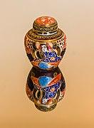 Chinees decoratief vaasje op glas 20-12-2020. (actm.) 01.jpg