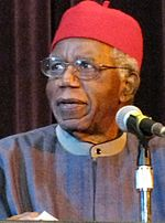Chinua Achebe in 2008