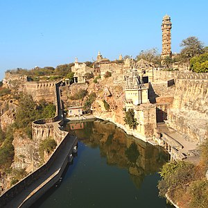 Siege of Chittorgarh (1567–1568) - Chittor fort today